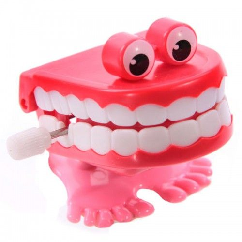 Party Bag Fillers - Wing Up Chattering Teeth