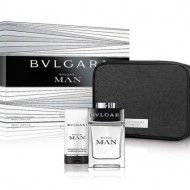 Bvlgari Man 100ml Eau De Toilette Mens Perfume 3pc Gift Set