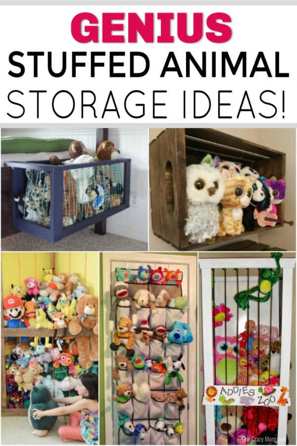 Stuffed Animal Storage Ideas The Best Diy Stuffed Animal Storage