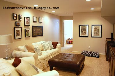 That's a Small Finished Basement | So that's what's been happenin' in the…