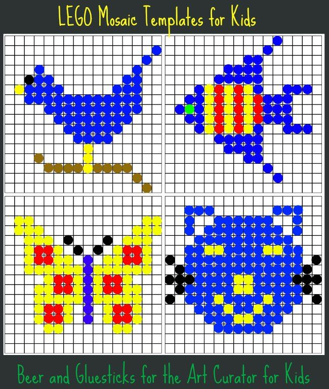 roman mosaic templates for kids - lego mosaic build some art today activities lego and