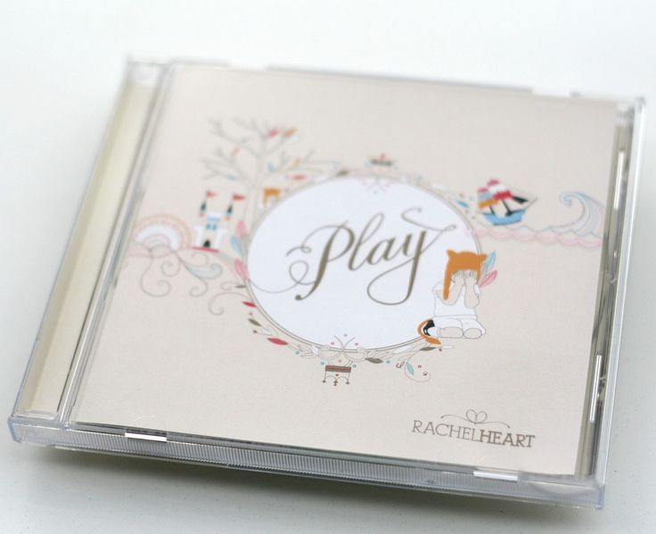Rachel Heart Album Design - Hybrid Expression Melanie Miles Illustration