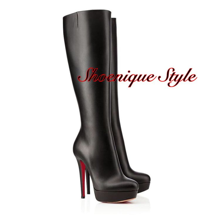 16cm real leather handmade boots