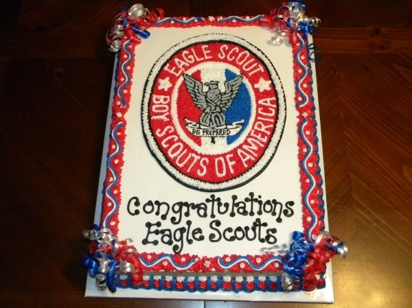 Eagle Scout cake Cake Decorating/Cupcakes Pinterest