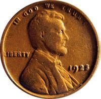 1923 Wheat Penny