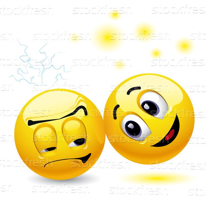Glimlachend · bal · cheer · boos · kinderen · gezicht - vector illustratie © Dejan Jovanovic (dejanj01) (#1323854) | Stockfresh