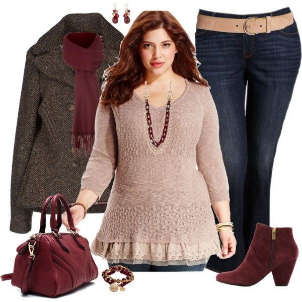 Plus Size for Fall, created by elise1114 on Polyvore