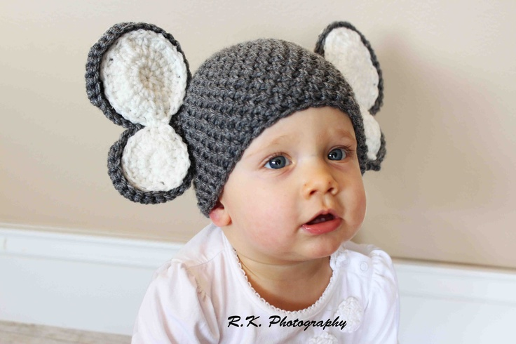 crochet elephant hats by echats on Etsy. If you would like something that you do not see in my shop please message me and I will get a listing up for you!
