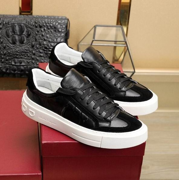 Ferragamo Gancini Sneaker Shoe Black