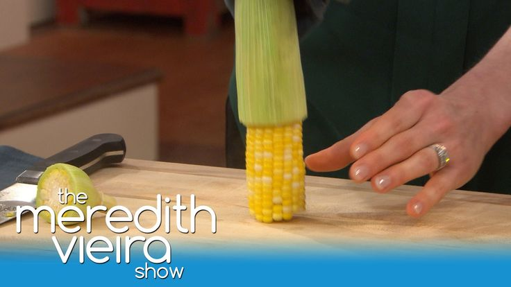 The Easiest Way To Shuck Corn! | The Meredith Vieria Show