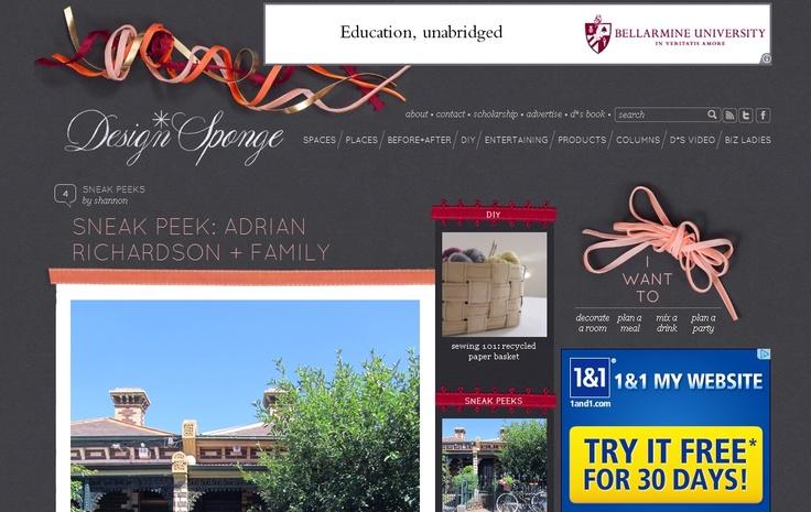 Design Sponge - 3d decorations:  Internet Site,  Website, Web Site, 3D Decorations