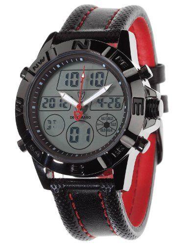 DETOMASO Trend Herren-Armbanduhr Digital/Analog Anthracite: Amazon.de: Uhren