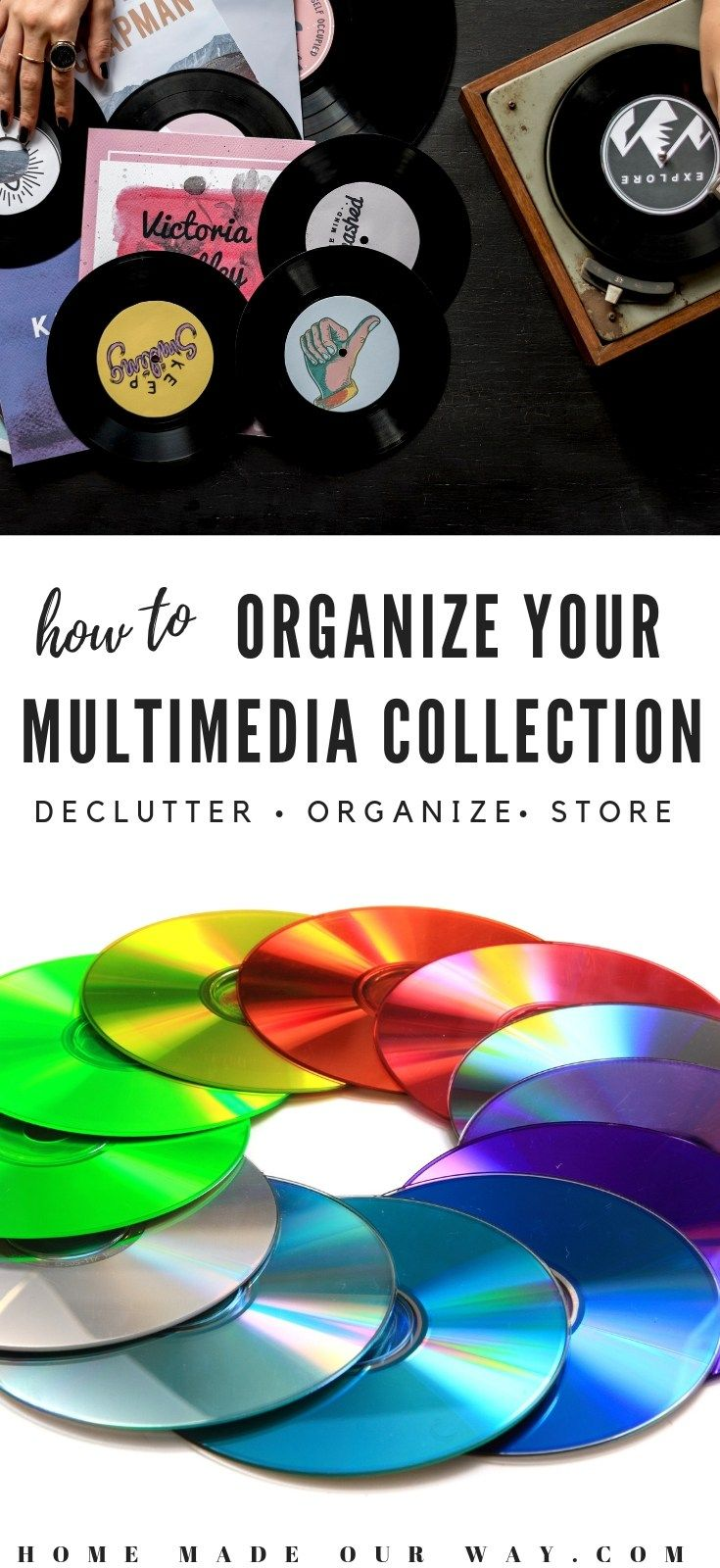 Multimedia Organization: How to organize your DVDs, CDs, etc