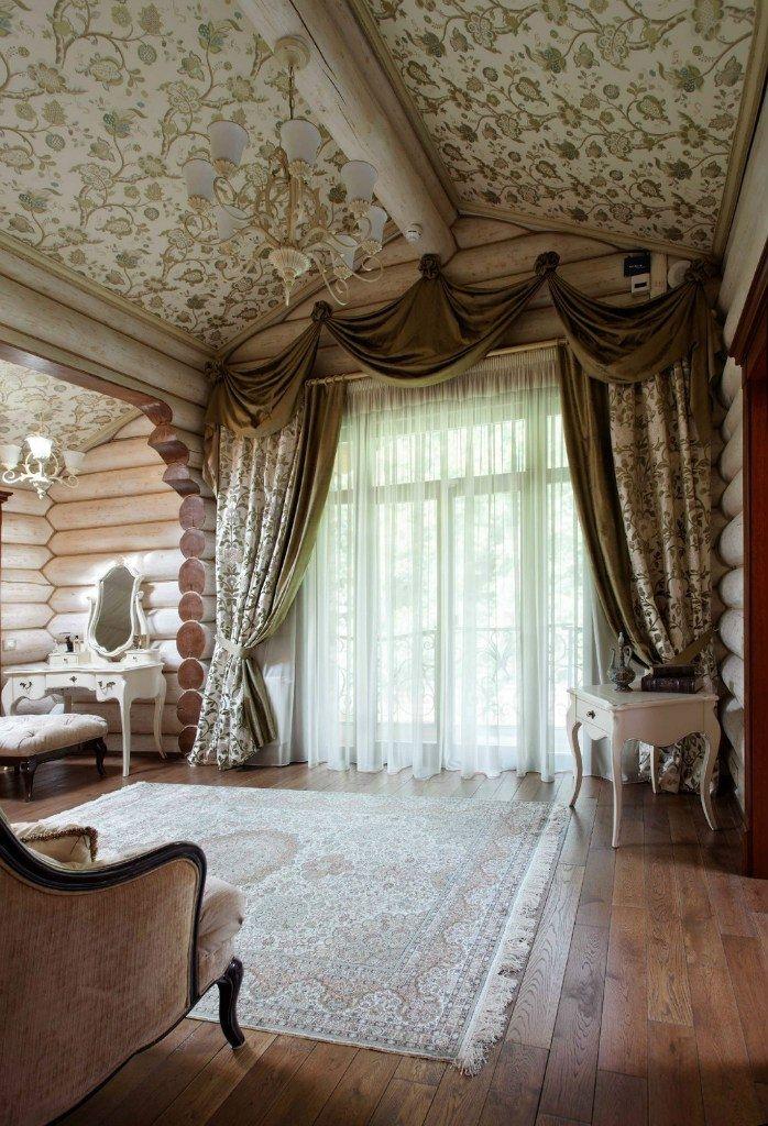 Деревянный дом из бревна площадью 350 кв.м. - Дизайн интерьеров | Идеи вашего дома | Lodgers