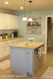 Mood Board Interior Decor services - Paint Color selection www.settingforfour.com BM Wythe Blue for kitchen walls
