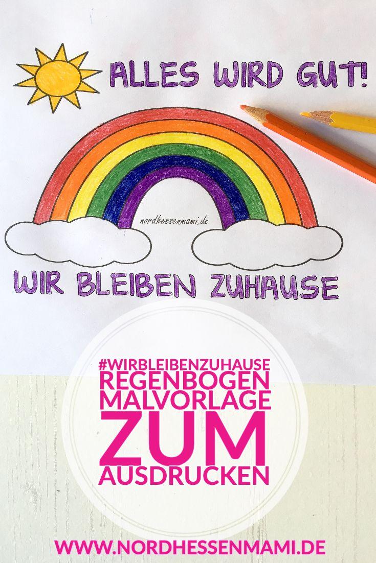 Regenbogen Aktion Kinder Malen Einen Regenbogen Nordhessenmami De In 2020 Malvorlagen Malvorlagen Zum Ausdrucken Vorlagen