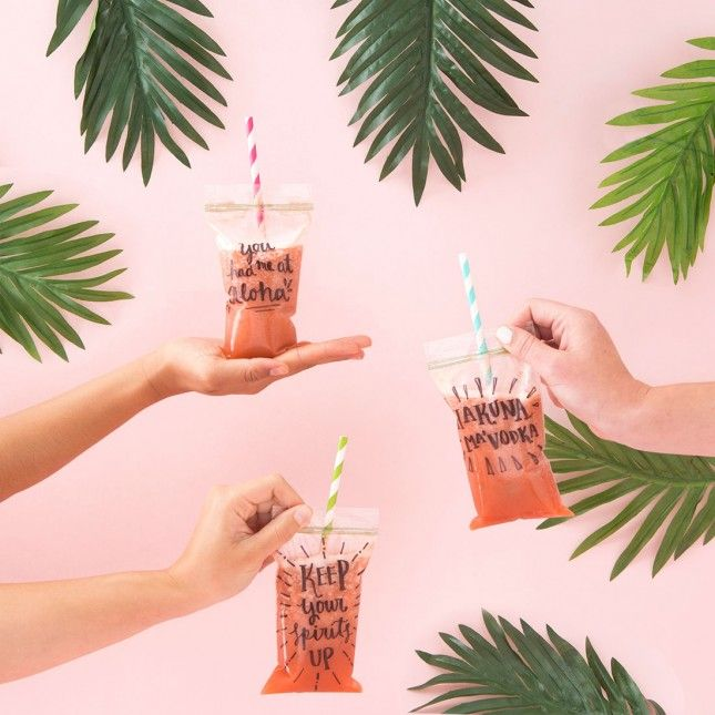 Bring Out Your Inner Kid With This Adult Capri Sun Recipe | Brit + Co