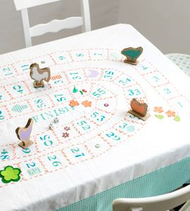 Game tablecloth. Which games can I make tablecloths for in this way? interesting!
