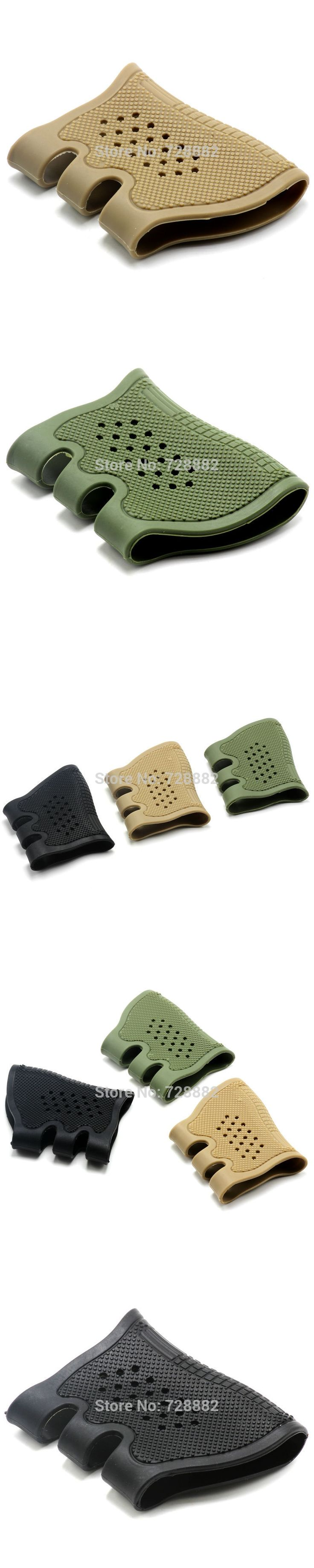 Tactical Universal Pistol Handgun Rubber Protect Cover Grip Glove Holsters Anti Slip Glock Holster Glock 17 19 20 21 22 23