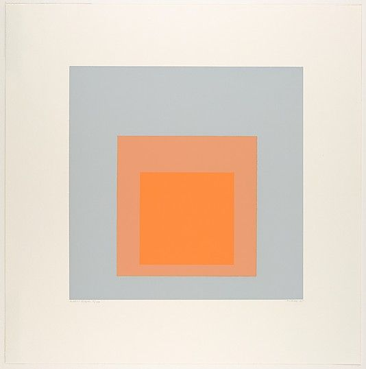 Artic Bloom from the Soft Edge–Hard Edge portfolio Josef Albers (American (born Germany), Bottrop 1888–1976 New Haven, Connecticut) Date: 1965 Medium: Screenprint Dimensions: 17 x 16 7/8 in. (43.2 x 42.9 cm) Classification: Prints