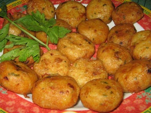 Perkedel (Indonesian Potato Cake) Recipe.