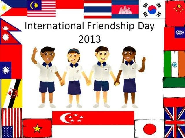 International Friendship Day 2013 | First Sunday of August - 4th August 2013