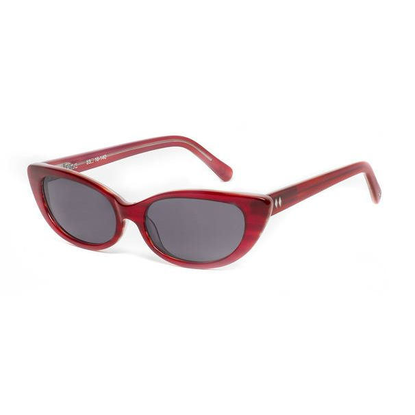 Jane Sunglasses with smoke lenses.Jane Sunglasses with smoke lenses. All plastic frames are made in limited quantities of handmade acetate and frames are Rx-able and fit most prescriptions.