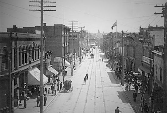 Gastown in the early 1900s