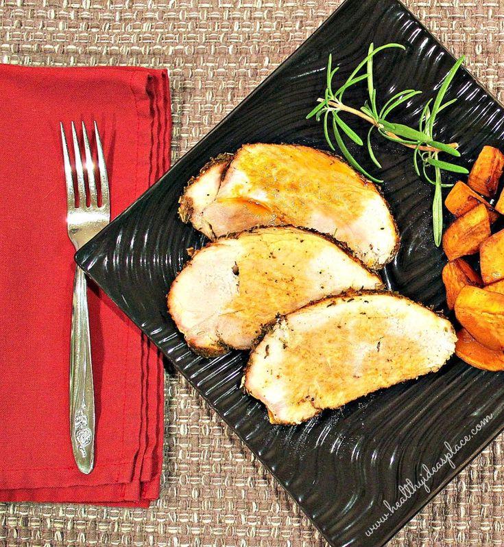 Herb Rubbed Pork Sirloin Roast
