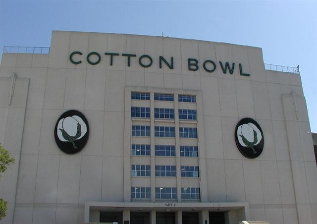 Cotton Bowl- went to many football games here with my Daddy. Home of the Texas-OU game!