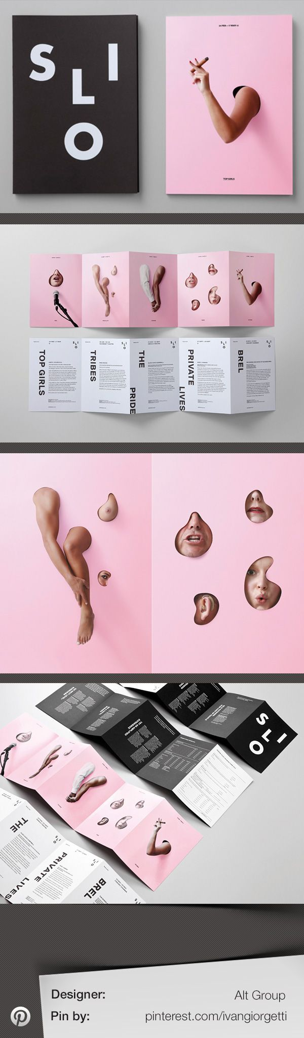 Silo Theatre identity design by Alt-Group