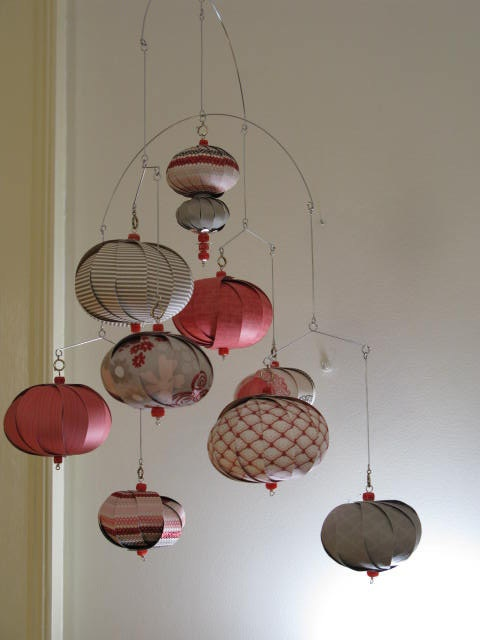 Ceiling Mobiles For Adults Hot Air Balloon Kinetic Hanging