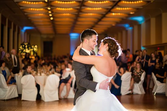 This elegant Marcus Center wedding cost the couple $35,000. Read on to see their entire wedding cost breakdown.