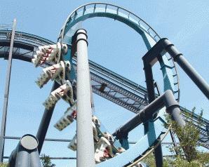 Yep I went on this crazy roller coaster at the San Antonio Sea World! crazyyyy.
