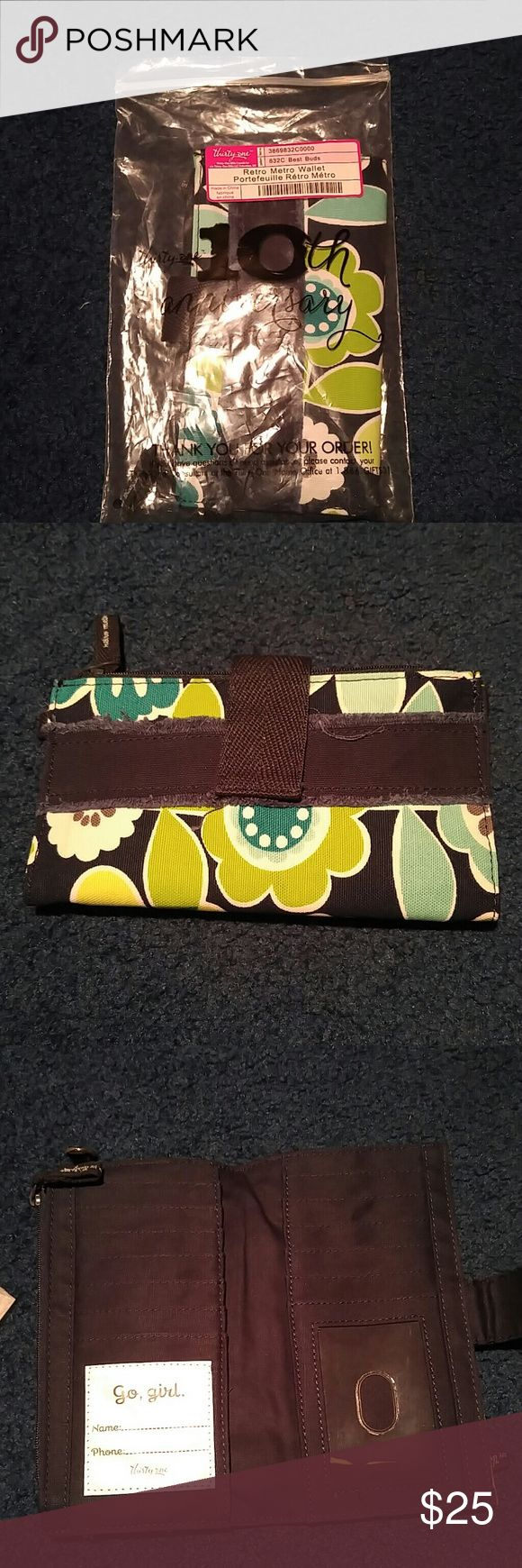 Thirty one retro metro wallet (New) Wallet Thirty one Bags Wallets