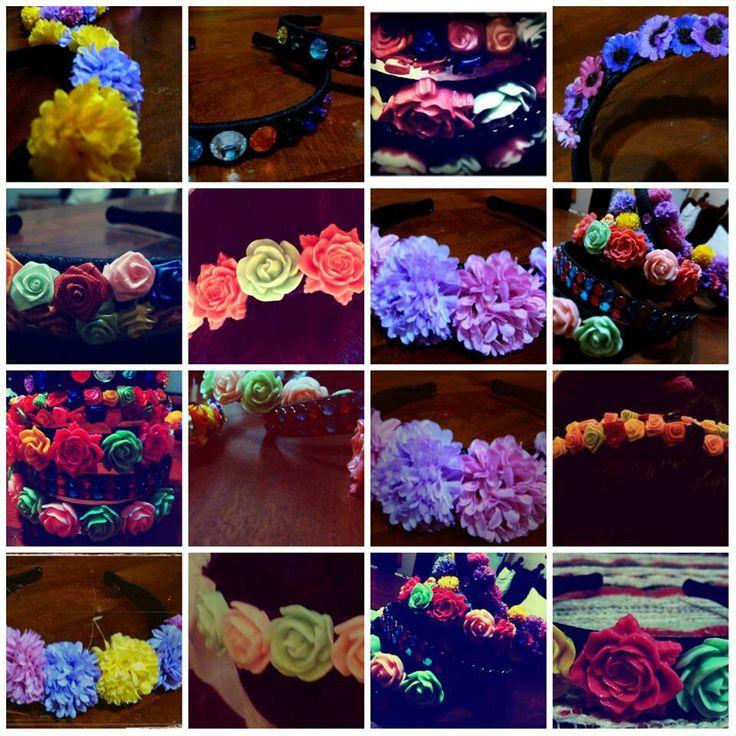 #Vinchas #Spring #Flowers #Accessories