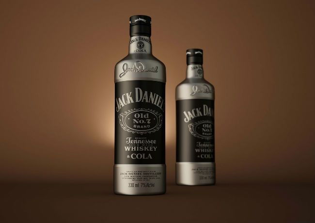 Jack Daniels & Cola (Concept) on Packaging of the World - Creative Package Design Gallery