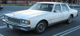 My first car was an 81 caprice classic and it was a diesel...... We called it The Beast