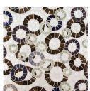 ring toss: Tile Patterns, Design Ideas, Anne Sacks, Sacks Tile, Kitchens Backsplash, Stones Mosaics, Sacks Mosaics, As Mosaics Rings Toss, Beautiful Tile
