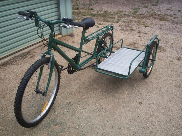 Bicycles Modified Bicycle With Side Car Bicycle Sidecar