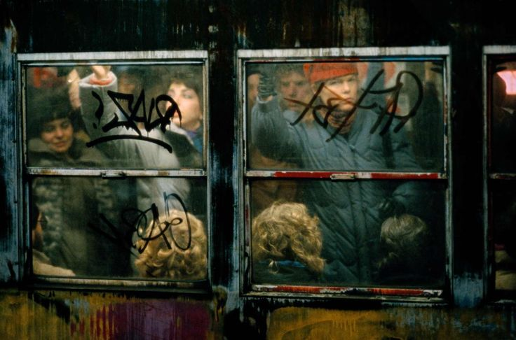Frank Horvat, Subway, New York City, 1980′s.