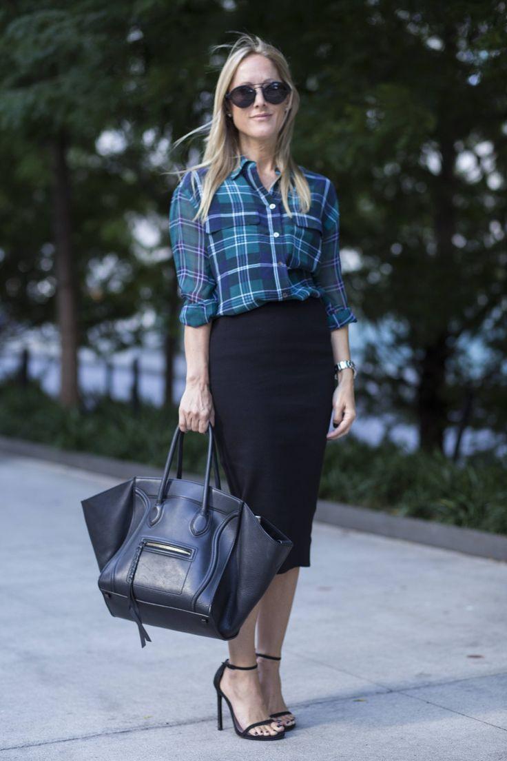UBRANIA W KRATĘ: JAK I Z CZYM JE NOSIĆ? #check #fashion #streetstyle #woman