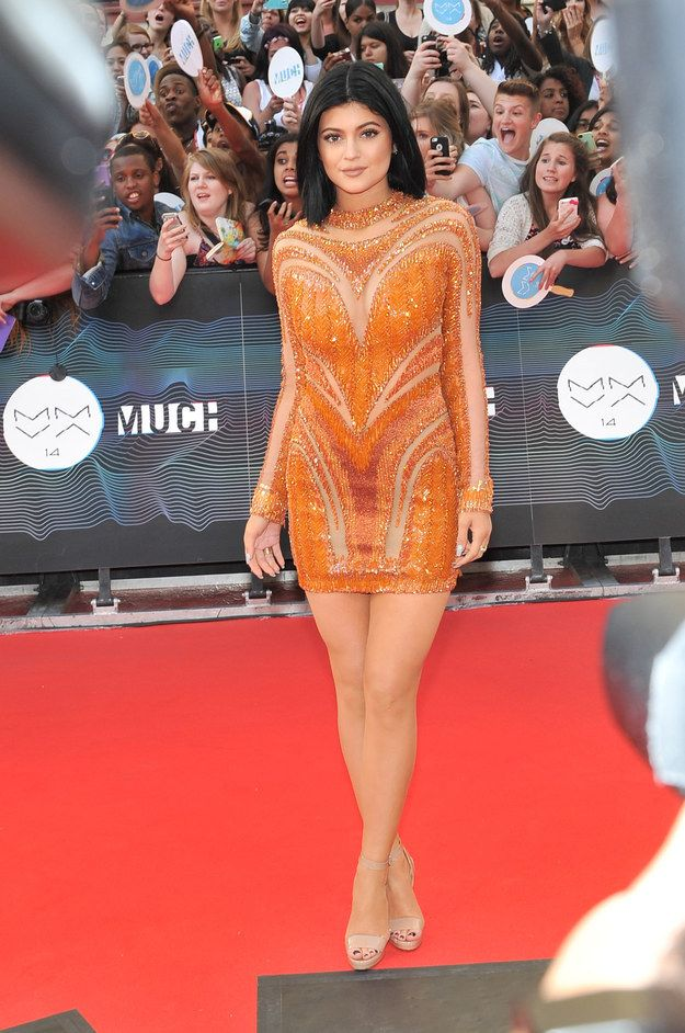 Kylie Jenner At The Much Music Video Awards