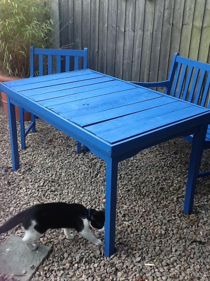 funky refurbished garden furniture x garden furniture