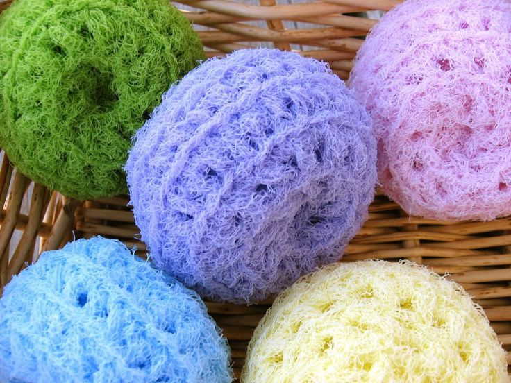 Crochet Kitchen Scrubbies Free Patterns | Scrubbies and Cloths with Scrubbies | Dish and Wash Cloth Mania