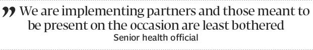 And then there were none: No polio official attends IPV launch ceremony - The Express Tribune