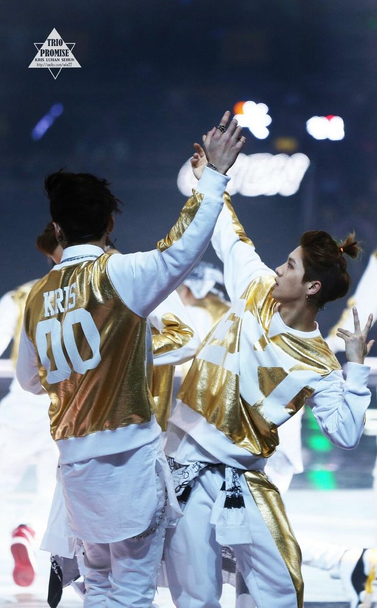 140406 EXO Luhan and Kris - Peace & Love & Friendship Concert - Beijing