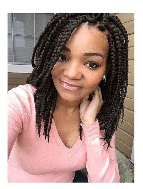 The 25 Best Short Box Braids Hairstyles Ideas On
