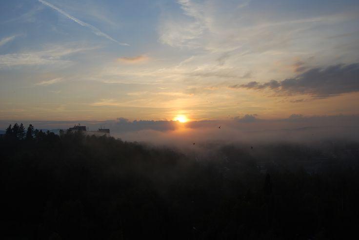 Sunset, Liberec