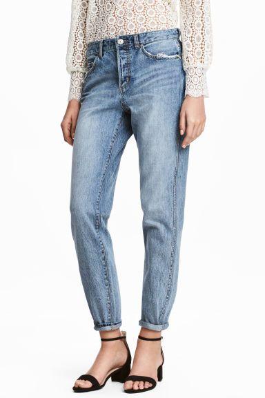 Boyfriend Low Ripped Jeans  (azul): H&M (29,99€)